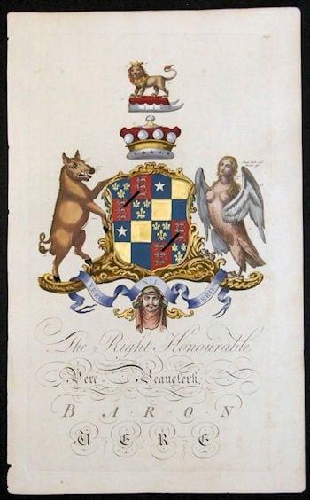 Joseph Edmondson, baron, coat of arms, heraldry, European history, business art