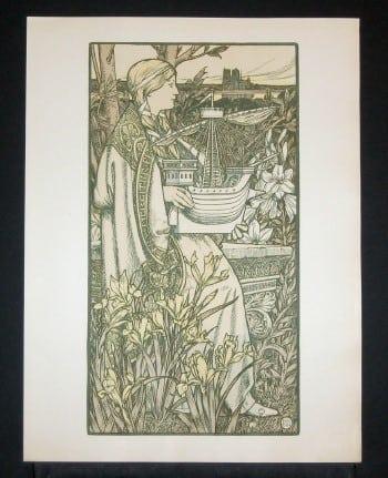 Art Nouveau, French posters, business art