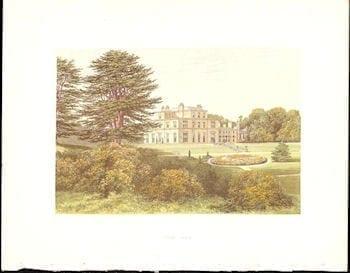 Rev. F.O. Morris, British estate, Irish estate, homes of noblemen, British history, Irish history, business art, architecture