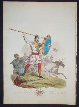Charles Hamilton Smith, ancient clothing, British costume, British war, business art
