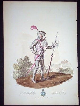 Charles Hamilton Smith, medieval armor, knight in shining armor, British royalty, business art