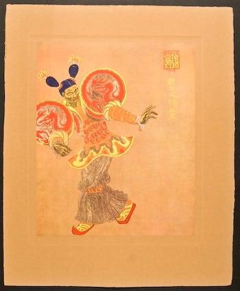 Hubert Julian Stowitt , Chinese play, Chinese costume, Chinese art, business art