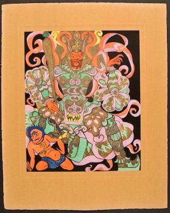 Hubert Julian Stowitt, Chinese play, Chinese costume, Chinese art, business art