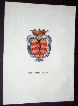 Luigi Tettoni, heraldry, Milan, European history, business art