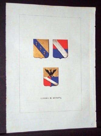 Luigi Tettoni, Milan, heraldry, European history, business art