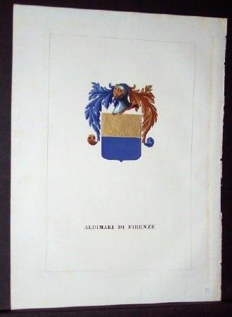 Luigi Tettoni, heraldry, European history, business art