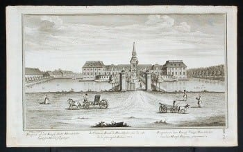 Lauritz de Thurah, Danish art, Dutch art, Danish architecture, Dutch architecture, Denmark gardens, Baroque landscaping, business art, horse and carriage, Danish estate