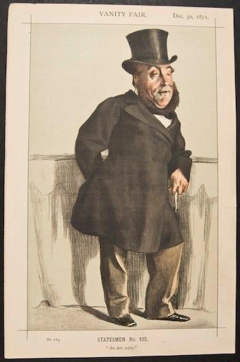 Vanity Fair, rich white men, capitalism, business art, Victorian art